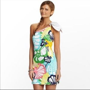 Lilly Pulitzer minta resort one shoulder dress, 6